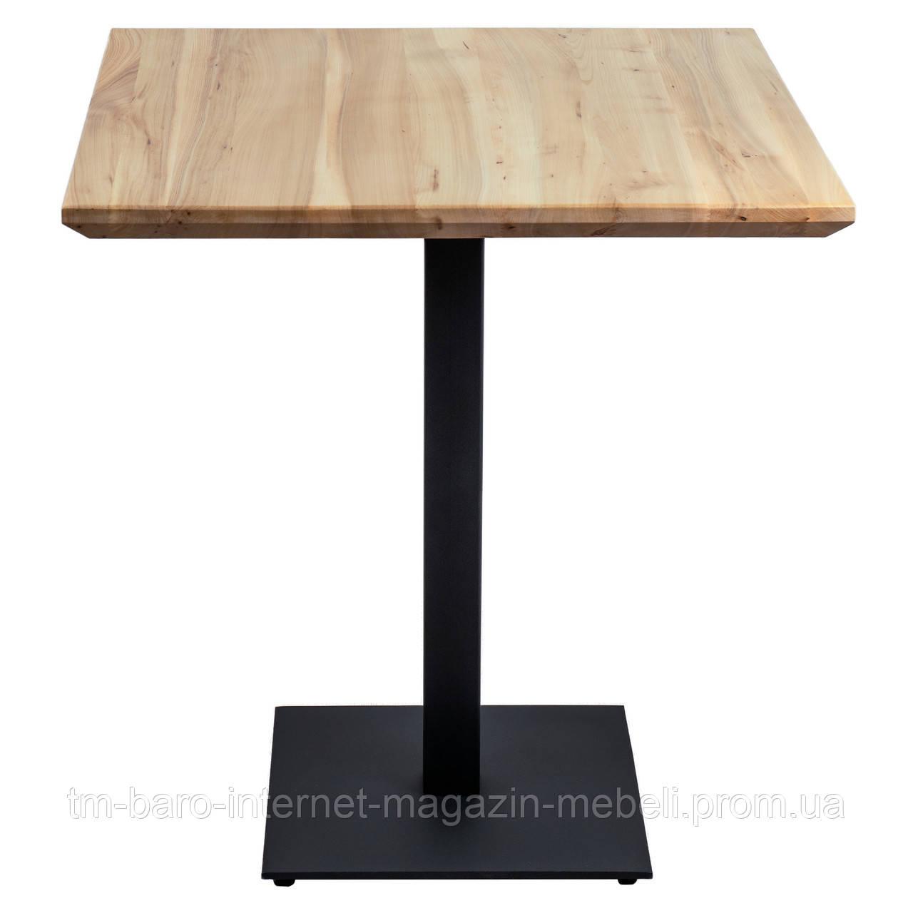 Стол Tetra  (Тетра) 80x80 черный