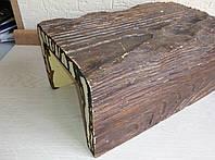 Декоративная балка DecoWood Рустик EQ005 190х130х3000 Темное дерево