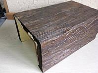 Декоративная балка DecoWood Модерн ED005 190х130х3000 Темное дерево