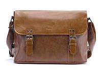 Мужская кожаная сумка-портфель. Модель с10, фото 3