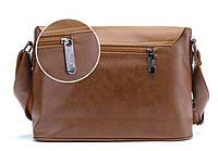 Мужская кожаная сумка-портфель. Модель с10, фото 6