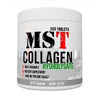 MST Sport Nutrition, Коллаген Collagen Hydrolysate + Vitamin C, 300 таблеток