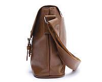 Мужская кожаная сумка-портфель. Модель с10, фото 4