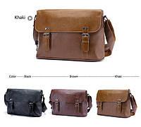 Мужская кожаная сумка-портфель. Модель с10, фото 5