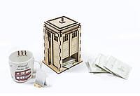 """Чайный домик """"Police Box"""" из фанеры"""