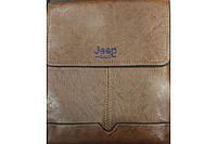 Сумка через плечо Jeep 104-2# (коричневая) (100)