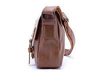 Мужская кожаная сумка-портфель. Модель с11, фото 4