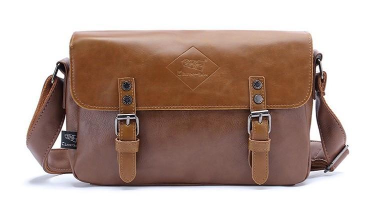 Мужская кожаная сумка-портфель. Модель с11
