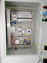Шафа автоматики керування приточно-витяжною системою вентиляції з електронагрівом