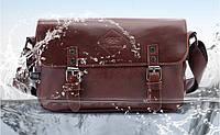 Мужская кожаная сумка-портфель. Модель с11, фото 7