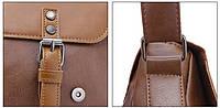 Мужская кожаная сумка-портфель. Модель с11, фото 8