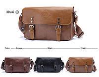 Мужская кожаная сумка-портфель. Модель с11, фото 2