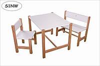Столик і стільчик, набір дитячих меблів, столик дитячий, стол детский