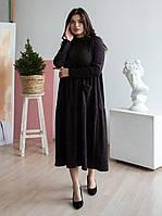 Платье в стиле бохо черное