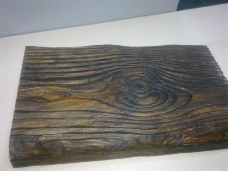 Панель полиуретановая DECOWOOD Рустик ET 305 190х35х3000 Темное дерево