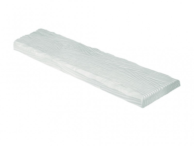 Панель поліуретанова DECOWOOD Рустик ET 305 190х35х3000 Біла