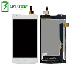 Дисплей (LCD) Lenovo A1000 IdeaPhone с сенсором белый