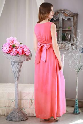 a836e1e9fef Элегантное длинное шифоновое платье в стиле