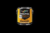 Эмаль антикоррозионная 3 в 1 Kompozit DIAMOND з декоративным эффектом ковки (0.65 л) графит