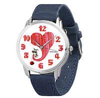 Женские наручные дизайнерские часы Теплое сердце, фото 1