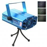 Лазерный проектор Mini Laser (6 видов мерцающих узоров)
