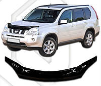 Дефлектор капота  Nissan X-Trail с 2007,  Мухобойка Nissan X-Trail