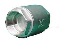 Клапан обратный муфтовый нержавеющий AISI 304 VCT Ду 15