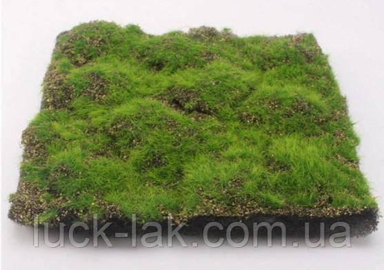 Килимок, імітація трави для макетів 30х30 см