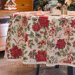 Какую скатерть постелить на стол в новогодний праздник?