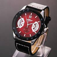 Мужские механические часы Winner Red Dial с датой