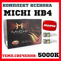 Комплект ксенонового света MICHI HB4 (5000K) 35W, фото 1