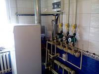 Система отопления трехэтажного помещения