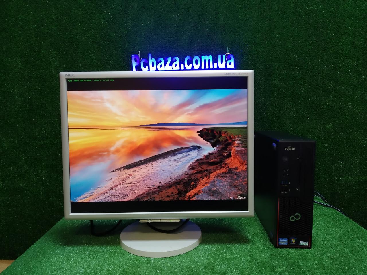 """ПК + монитор 22"""" PVA, i3-3220 3.3, 4 ГБ, 160 Гб, 2xCOM, 10 USB, USB 3.0 Настроен. Германия!"""