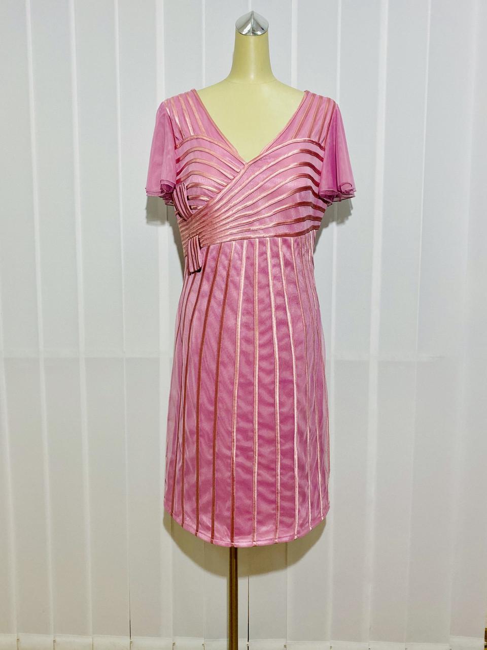 Платье женское Marys Tune розовое нарядное размер+ большого размера