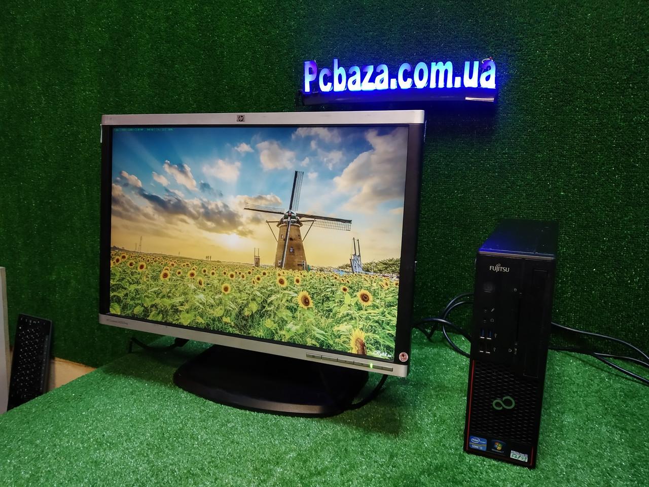 """ПК + монитор 22"""", i3-3220 3.3, 4 ГБ, 160 Гб, 2xCOM, 10 USB, USB 3.0 Настроен. Германия!"""