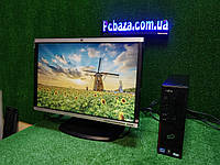 """ПК + монитор 22"""", i3-3220 3.3, 4 ГБ, 160 Гб, 2xCOM, 10 USB, USB 3.0 Настроен. Германия!, фото 1"""