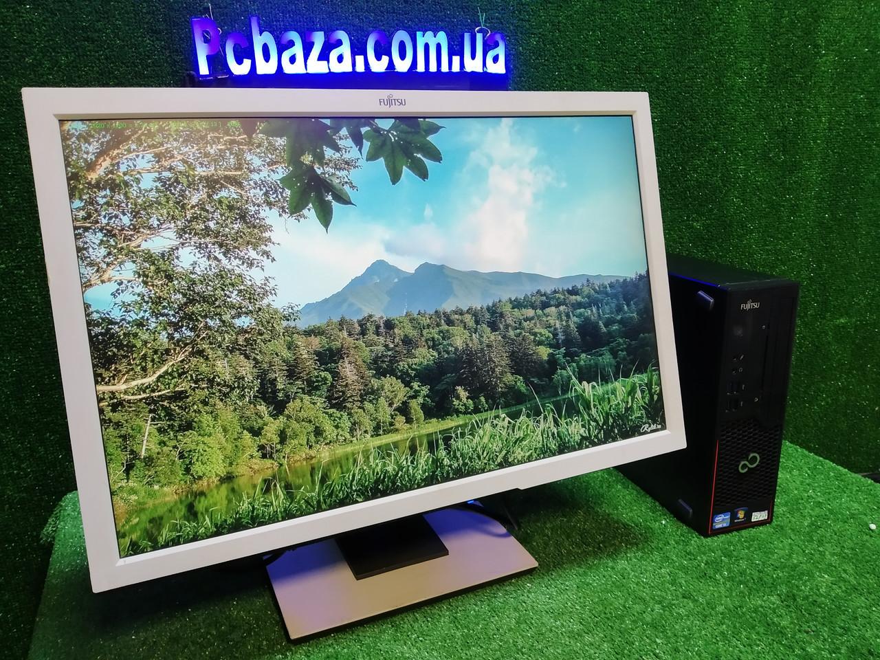 """ПК +монитор 22"""" IPS, i3-3220 3.3, 4 ГБ, 500 Гб, 2xCOM, 10 USB, USB 3.0 Настроен. Германия!"""