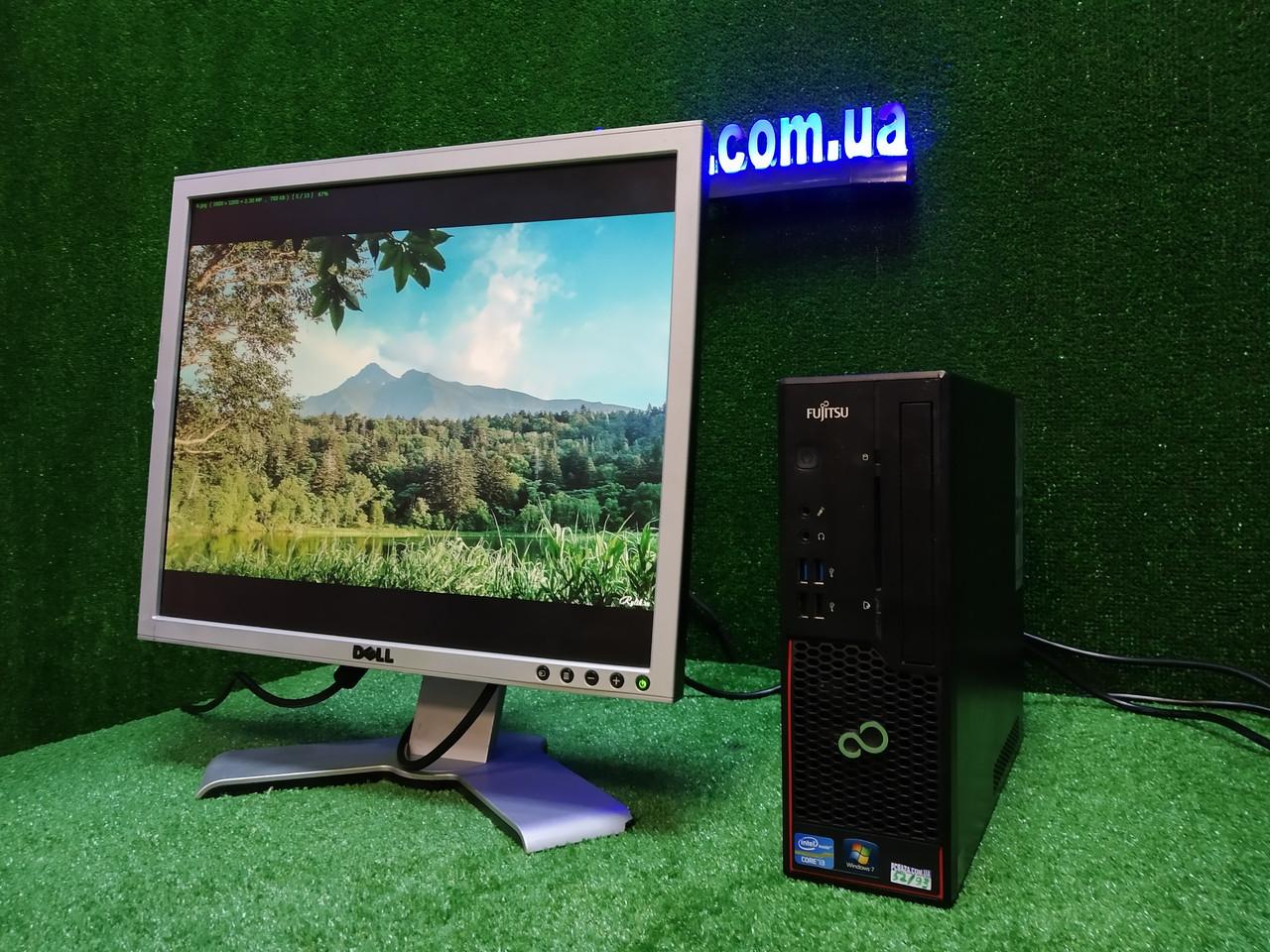 """ПК +монитор 19"""", i3-3220 3.3, 4 ГБ, 160 Гб, 2xCOM, 10 USB, USB 3.0 Настроен. Германия!"""