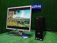 """ПК +монитор 19"""", i3-3220 3.3, 4 ГБ, 160 Гб, 2xCOM, 10 USB, USB 3.0 Настроен. Германия!, фото 1"""