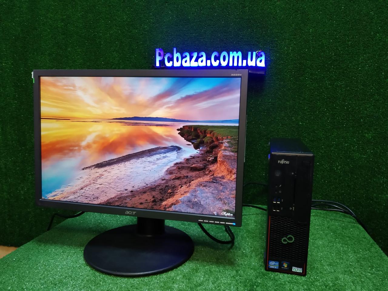"""ПК +монитор 22"""", i3-3220 3.3, 4 ГБ, 160 Гб, 2xCOM, 10 USB, USB 3.0 Настроен. Германия!"""
