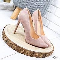 Женские нарядные туфли лодочки на шпильке, фото 1