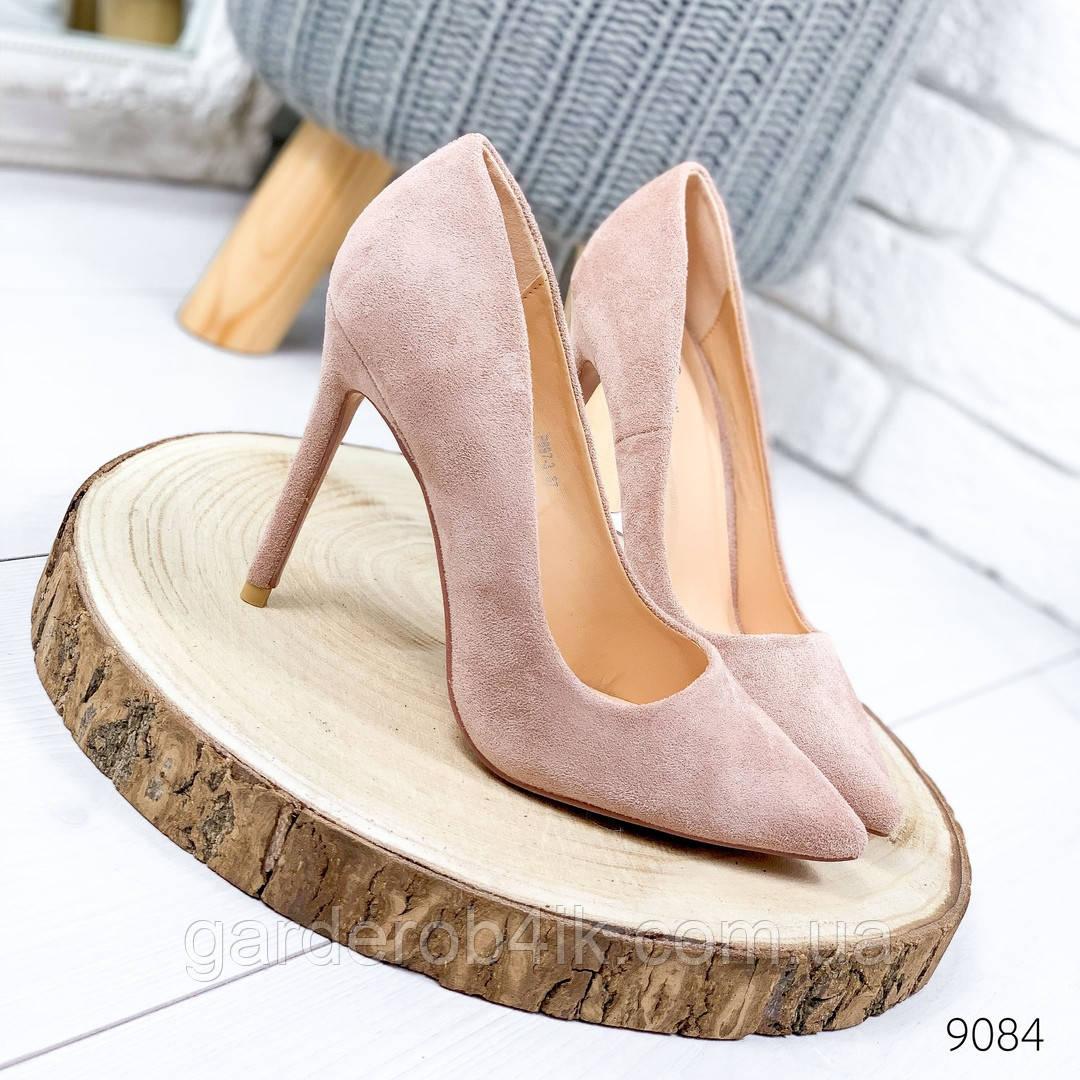 Женские нарядные туфли лодочки на шпильке