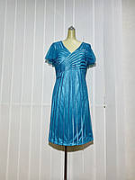 Платье Marys Tune голубое нарядное РАЗМЕР+