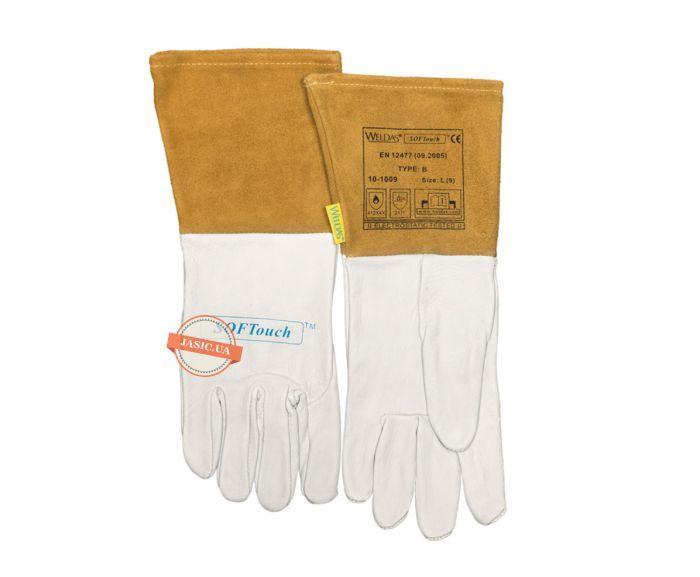 Перчатки сварщика 10-1009, L