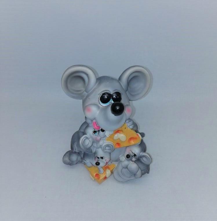 Копилка Мышь   18х10 см, Копилка мышь, подарок на Новый Год 2020, копилка символ Нового Года