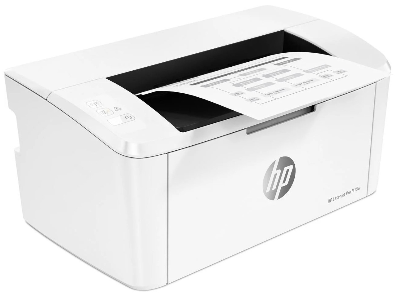Лазерный принтер HP LaserJet Pro M15a (W2G50A) для дома и офиса, черно-белый (для дому і офісу, чорно-білий)