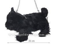Сумка Собачка черная