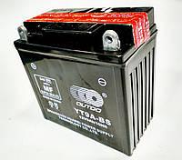 Акумулятор 12V 9Аһ YTX9A-BS 135/75/135 мм (кислотний) високий