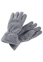 Демисезонные флисовые перчатки для мальчика Reima Varmin 527329-9400. Размеры 3/4 и 5/6., фото 1