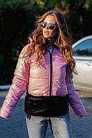 Женская Куртка с меховой отделкой, фото 1